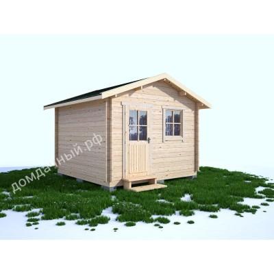 Садовый домик без навеса 3,5х3,5