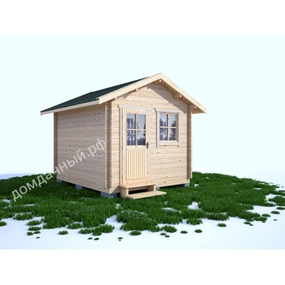 Садовый домик без навеса 3х3