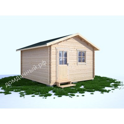 Садовый домик без навеса 4х4